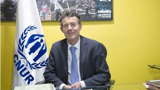 Jozef Merkx ist der Repräsentant des UNHCR in Kolumbien.