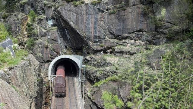 Eisenbahnstrecke durch den Gotthard