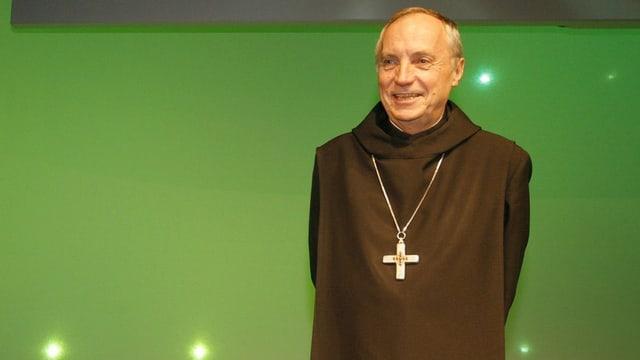 Der Abtprimas des Benediktinerordens, Notker Wolf.