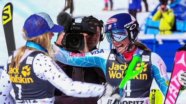 Video «St. Moritz – Wie die SRG die Ski-WM zum Spektakel macht» abspielen