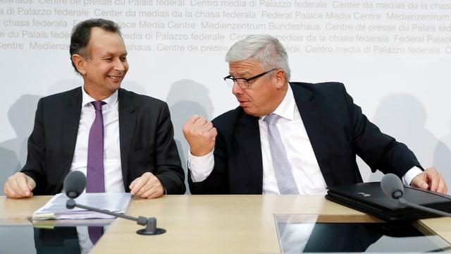 Peter Föhn e Philpp Müller