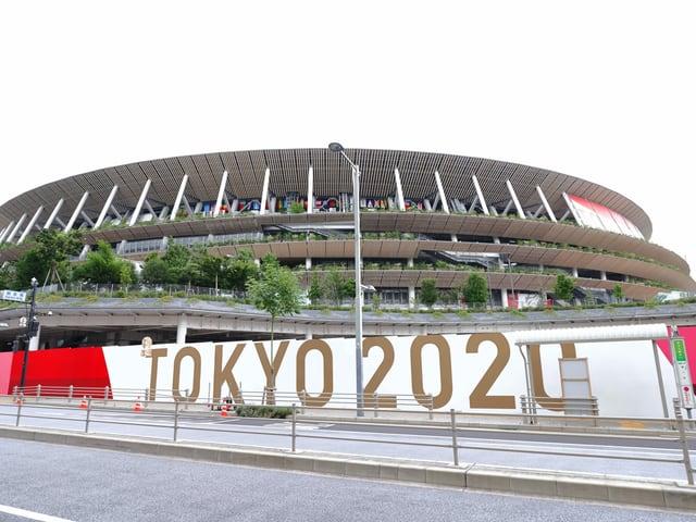 Das Olympiastadion in Tokio.