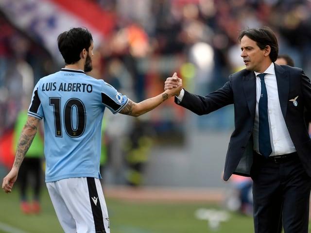 Luis Alberto; Simone Inzaghi, Lazio