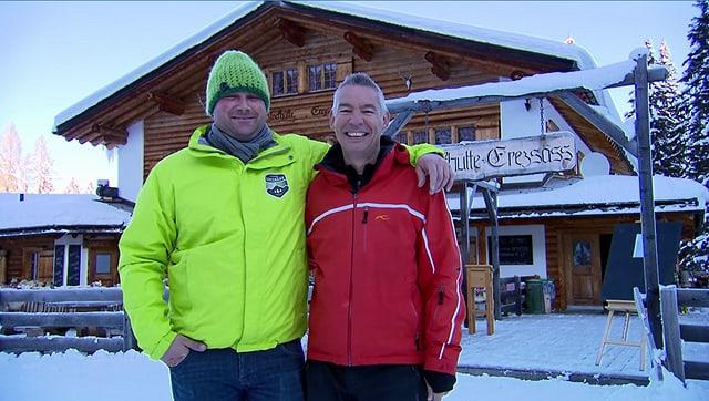 Video «Skihütten-Spezial – Tag 4 – Blockhütte Erezäss, Fideris» abspielen