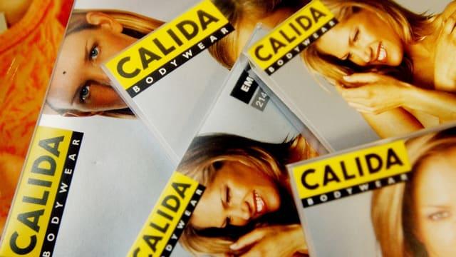 Calida Bodywear-Verpackungsmaterial