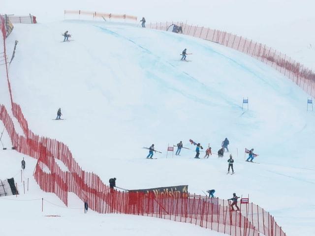 Pista da skis.