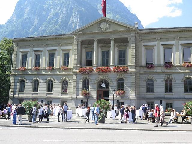 Bundesrat in Glarus zu Besuch