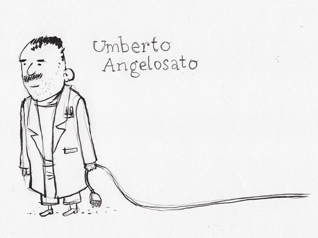Hauselektriker Umberto Angelosanto.