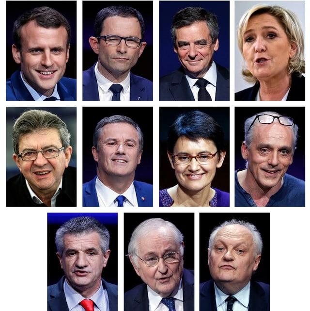 Die Kandidaten im Überblick