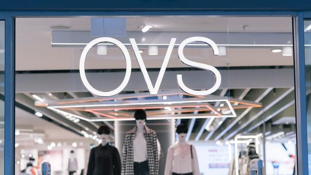 Purtret dal logo dad OVS.