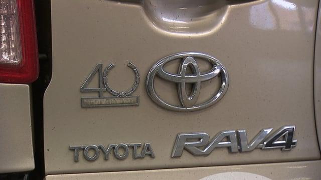 Nahaufnahme Heck eines Toyota xxxx