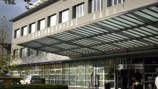 Eingang Kantonsspital Aarau