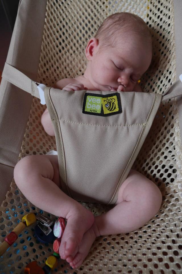 Jüngster Spross der Familie Schmid: Baby Ziara.