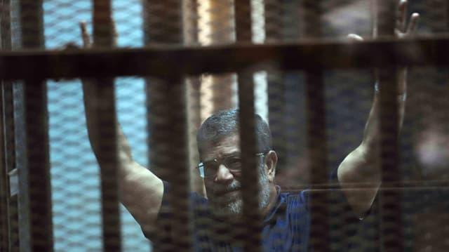 Mohammed Mursi davos in giatter da praschun