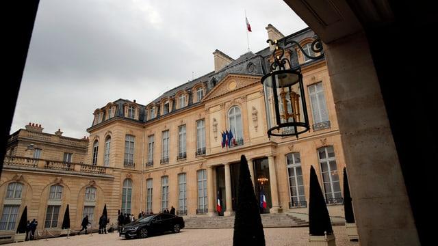 Palais de l'Élysée - tgi dastga abitar en il futur qua?