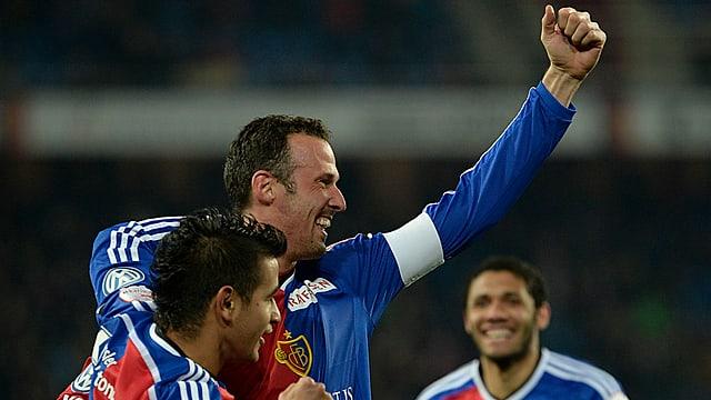 Für Marco Streller und Ligakrösus Basel gab es in dieser Saison erneut viel zu jubeln.