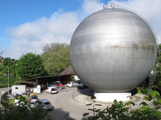 Lindli-Areal mit Gasspeicher in Schaffhausen