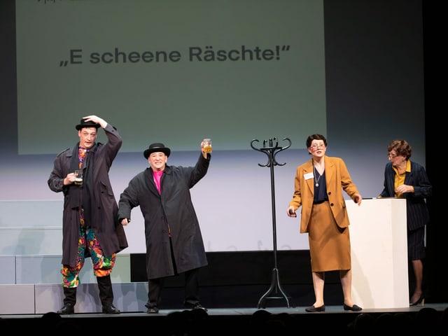 Eine Uni-Professorin hat die Basler Fasnachtssprache analysiert.