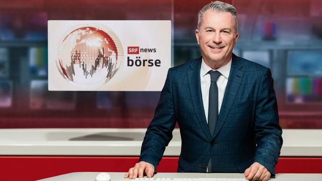Reto Lipp, Moderator «SRF Börse»