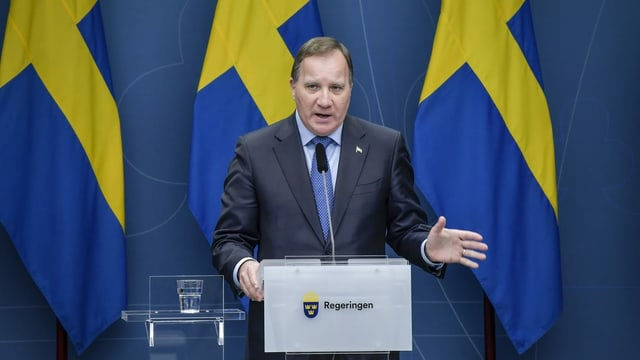 Schwedens Ministerpräsident Stefan Löfven.