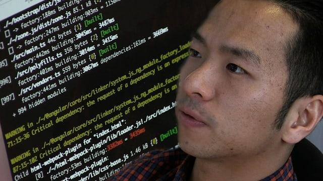 Chinesischer IT-Spezialist, Computercodes