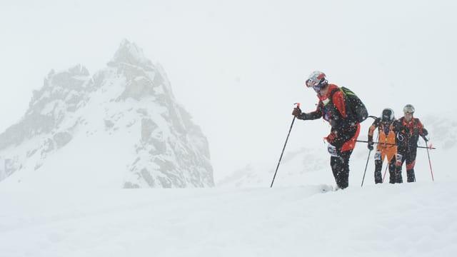 Impressiuns da la cursa da skis cun tura Trofea Péz Ault.