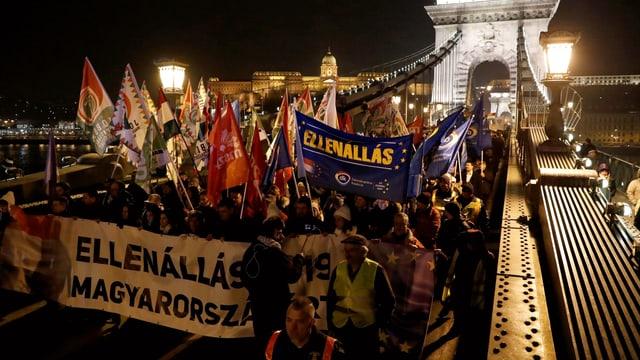 Proteste in Budapest