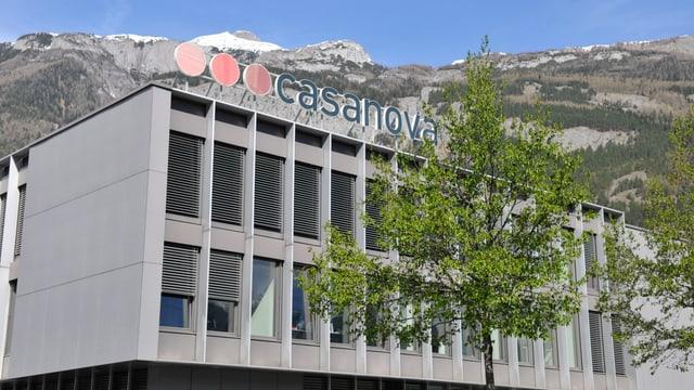 Casanova Druck und Verlag AG an der Rossbodenstrasse in Chur