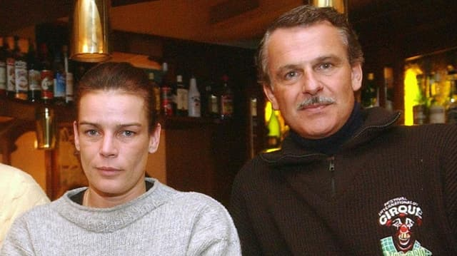 Stéphanie von Monaco und Franco Knie