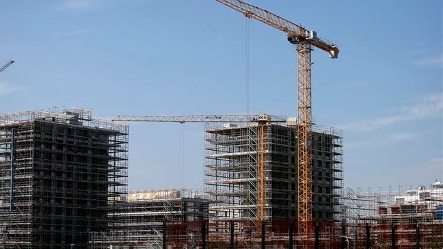 Baustelle in Zug