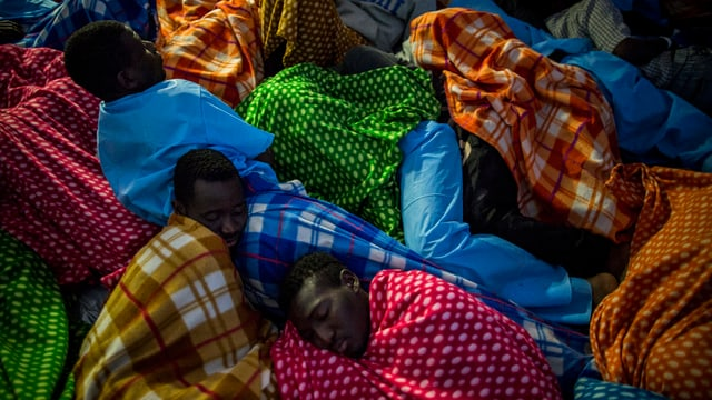 Migranten aus Afrika