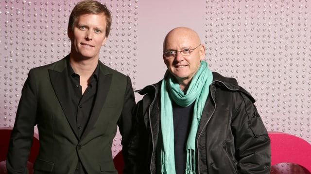 Rolf und Gregory Knie