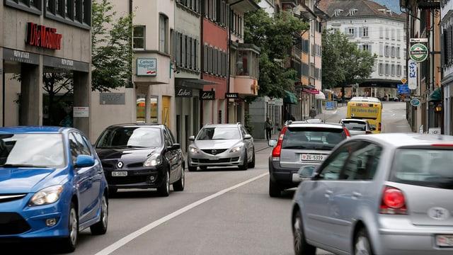 Verkehr und Stau