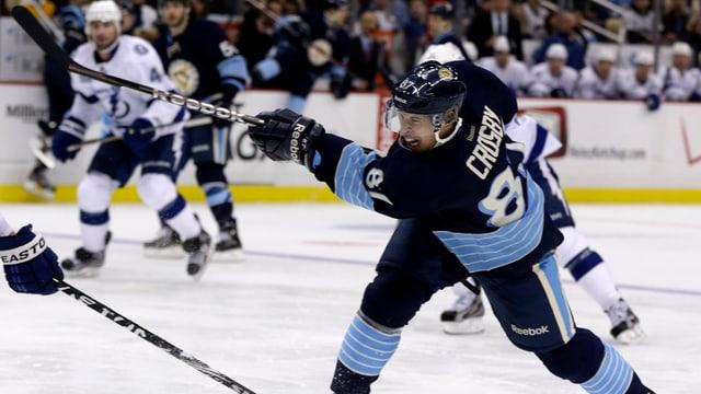 Sidney Crosby spielt derzeit in der NHL gross auf - wie zu seinen besten Zeiten.