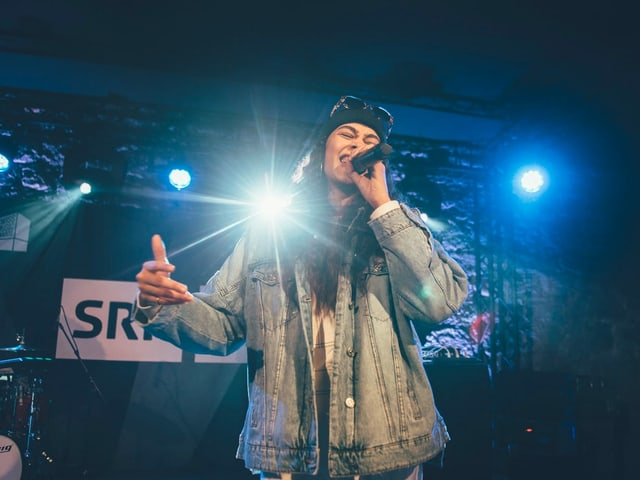 Souliger Hip-Hop zum Dahinschmelzen: Naomi Lareine.