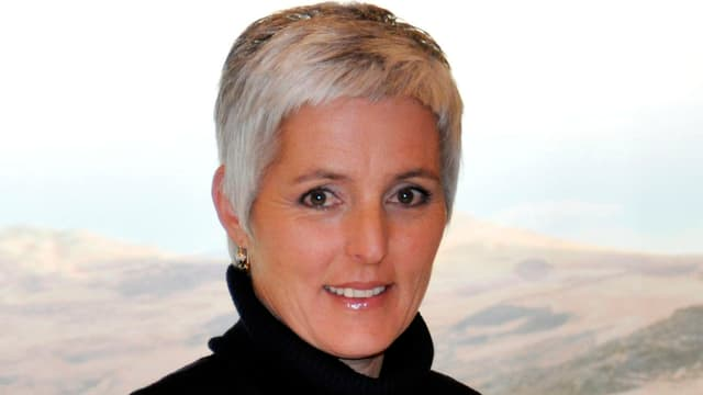 La cineasta rumantscha, Susanna Fanzun.