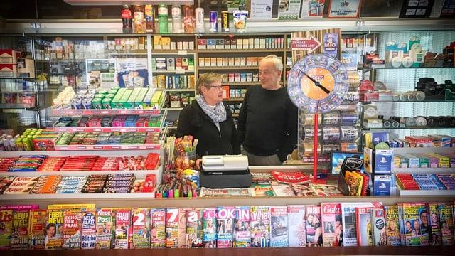 Hansluz Nussbaum gehört zu den wohl erfahrensten Kioskbesitzern der Schweiz.