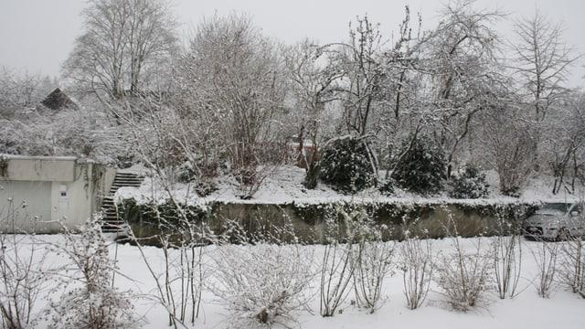Sieht es bald wieder so aus? Winterthur im Dezember 2014.