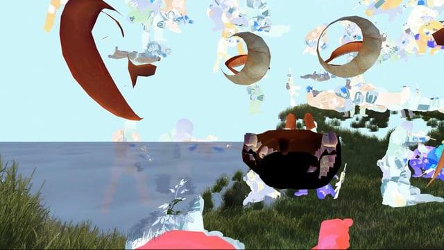 Virtuelle Landschaft