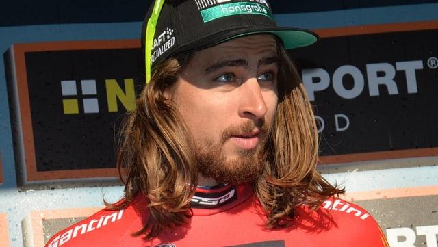 Weltmeister Peter Sagan - behaart bei Saisonstart.