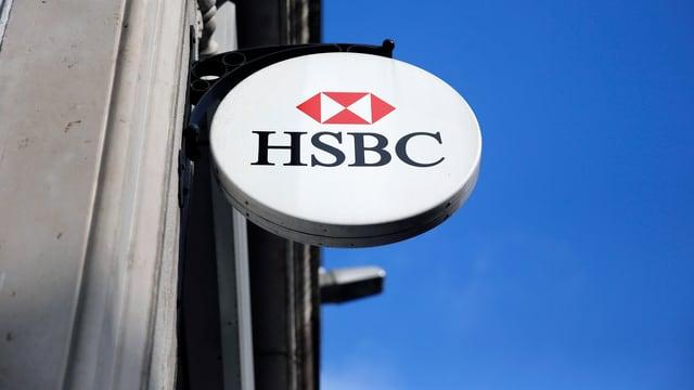 Filiale der HSBC in London