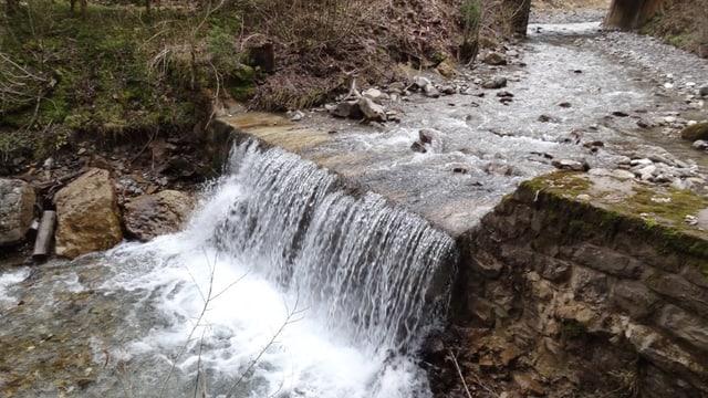 Der Fluss Jäunli in der Gemeinde Saanen.
