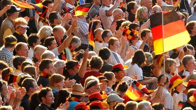 Deutsche Sportfans.