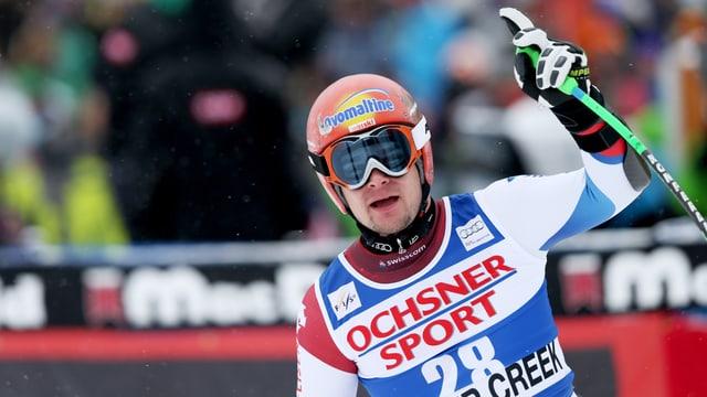 Patrick Küng sorgte mit seinem Sieg für ein erstes Schweizer Highlight in der noch jungen Saison.
