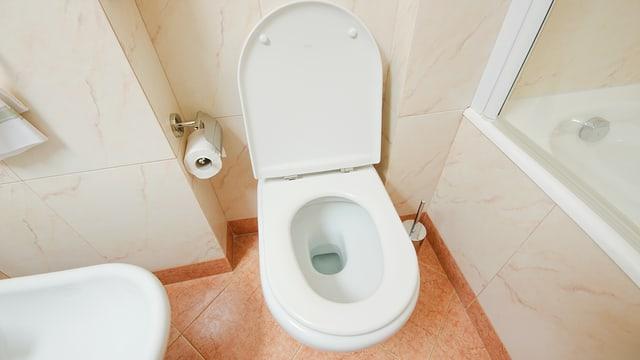 WC von oben