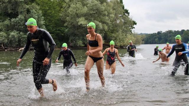 Der Schaffhauser Triathlon