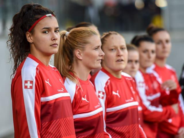 Die Schweizer Frauen-Nati