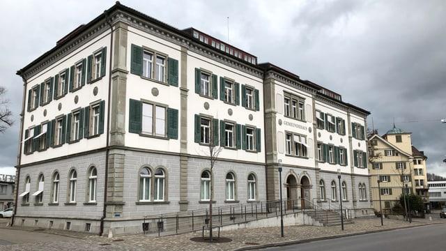 Das Gemeindehaus in Herisau von aussen.