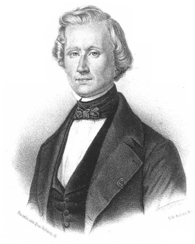 Portrait von Urbain Le Verrier