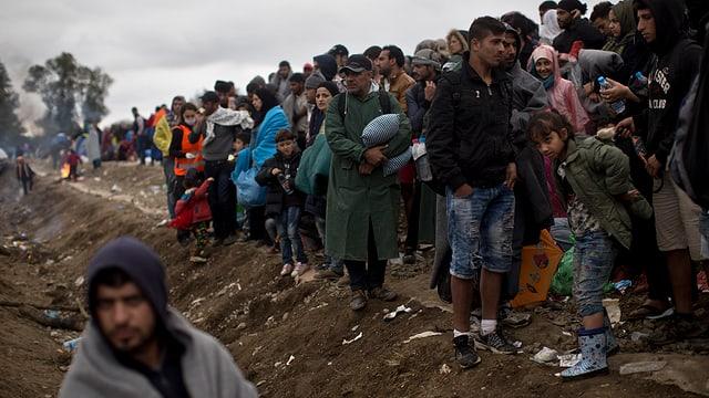 Flüchtlinge in Kroatien